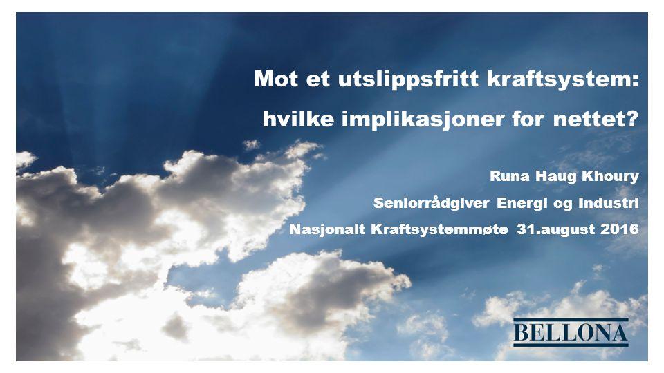 Er norsk nettinfrastruktur rustet for lavutslippsamfunnet.