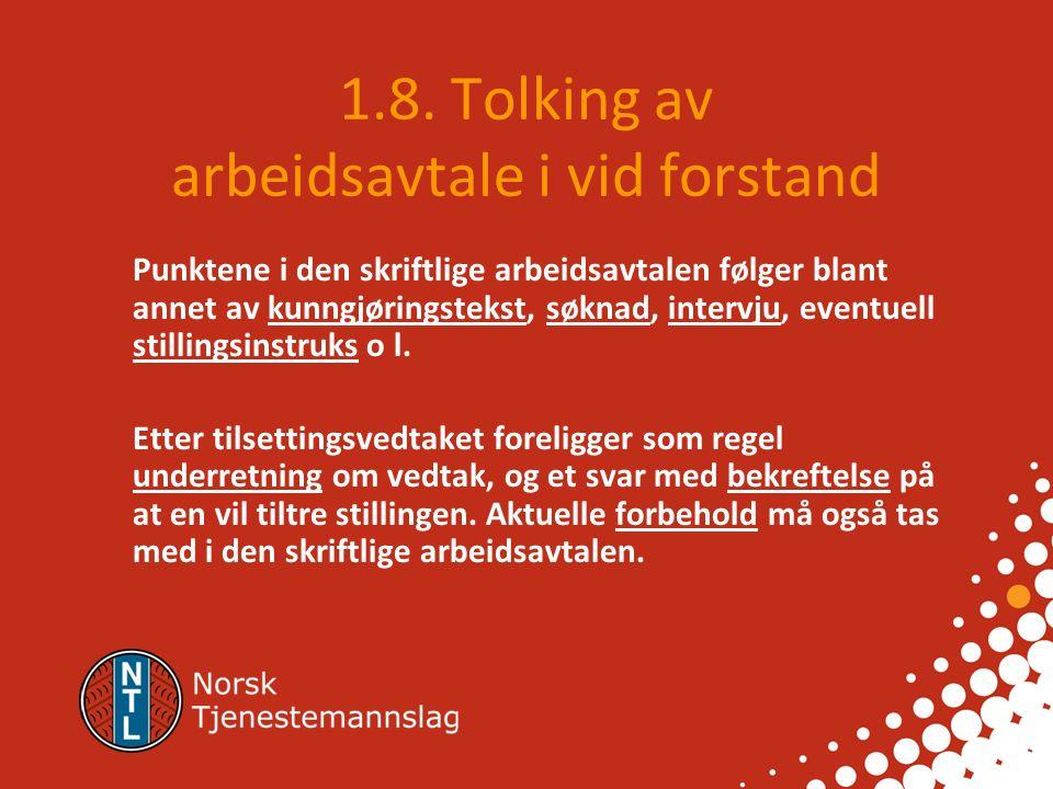1.7.3. Avtalemekanismen etter avtaleloven 1.7.3.1.