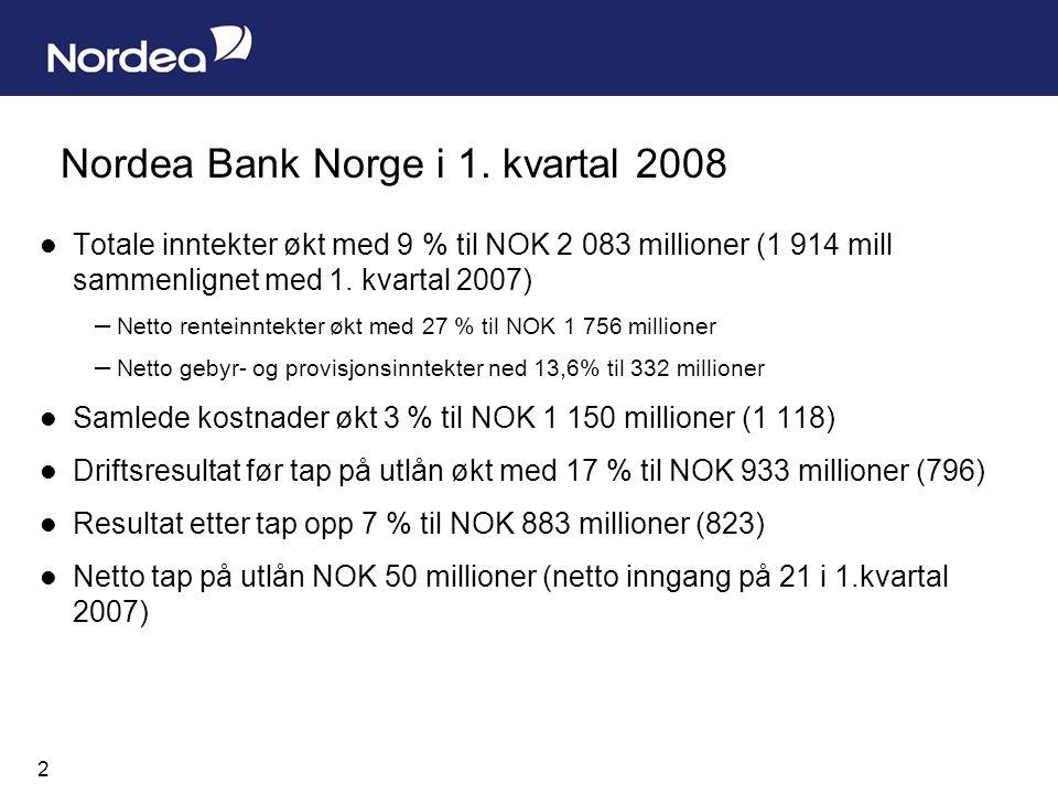 2 Nordea Bank Norge i 1.