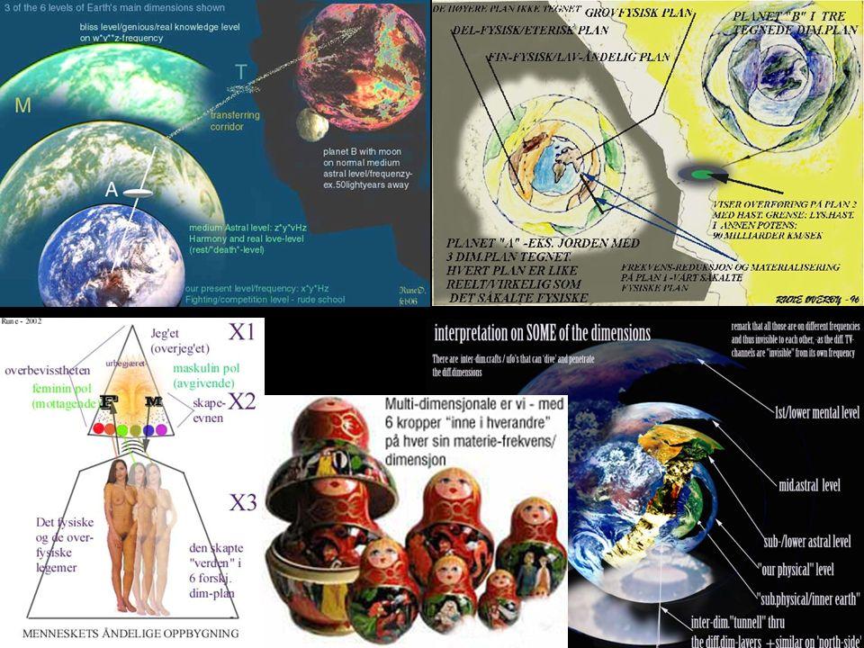 Channie ble presentert for mange forskjellige raser etter hvert og hennes primærkontakter ellers: Var vegetarianere De gav en omfattende forklaring om reinkarnasjon, og de sa at man ikke normalt bytter kjønn (s.67) - som også Martinus kosmologi beskriver Levde ca 400 år pr.inkarnasjon i grovfysisk form Gj.snitt var de 1200år på fin-fysisk nivå mellom hver inkarnasjon De reiste langs snarveier eller tunneler i rommet - utenfor tidsdimensjonen – men kunne også reise i tiden.