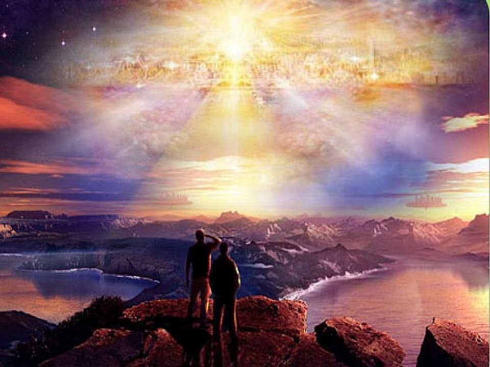 En gammel profeti lyder: lyset skal komme fra NORD Først da er vi HELT inne di det nye energifelt
