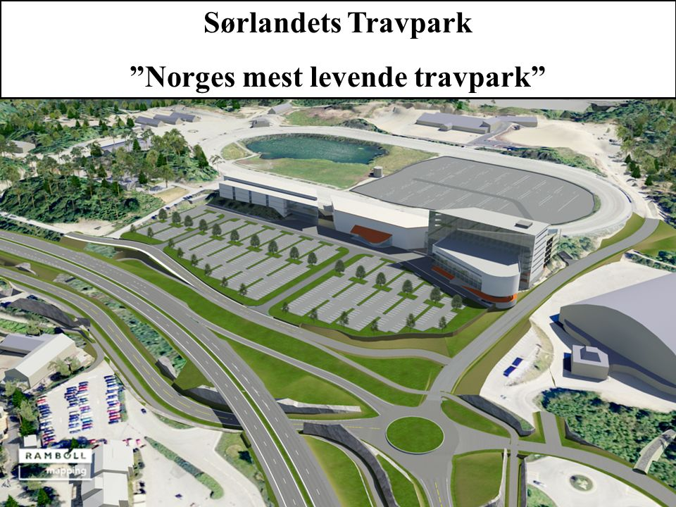 """Sørlandets Travpark """"Norges mest levende travpark"""""""