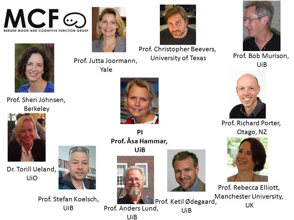 Prof. Sheri Johnsen, Berkeley Prof. Jutta Joormann, Yale PI Prof.