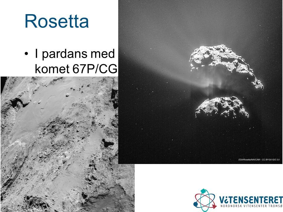 Rosetta I pardans med komet 67P/CG
