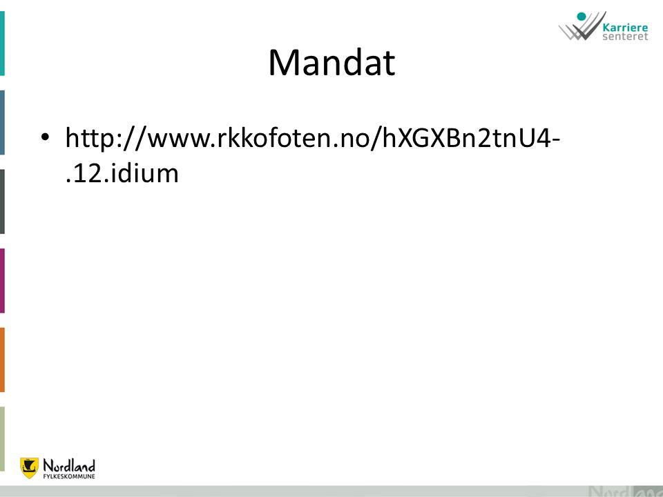 Mandat http://www.rkkofoten.no/hXGXBn2tnU4-.12.idium