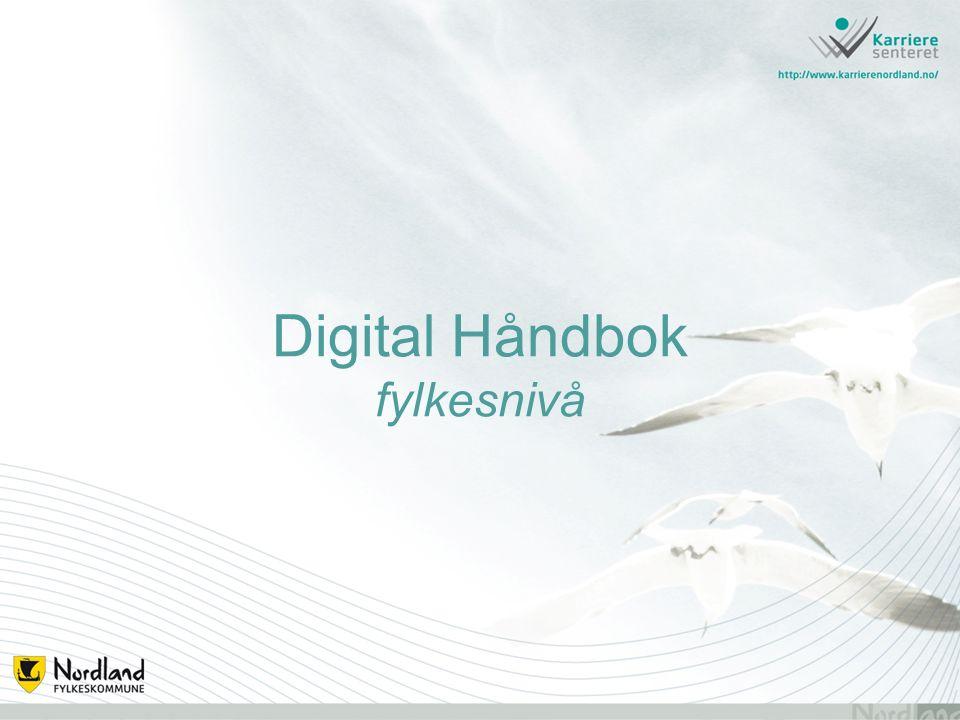 Digital Håndbok fylkesnivå
