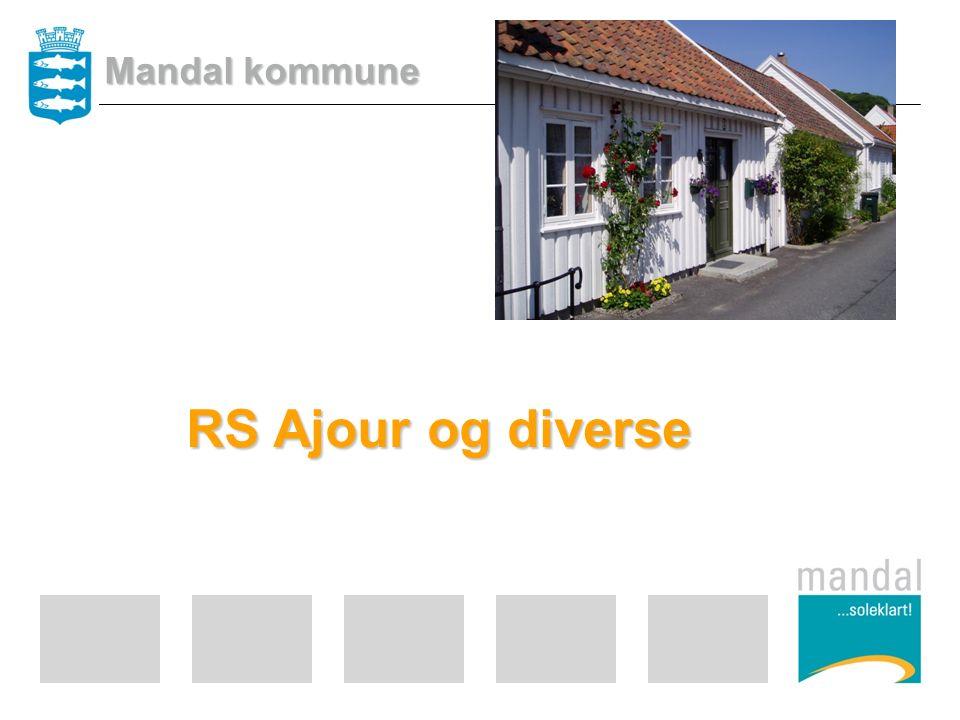 RS Ajour og diverse Mandal kommune
