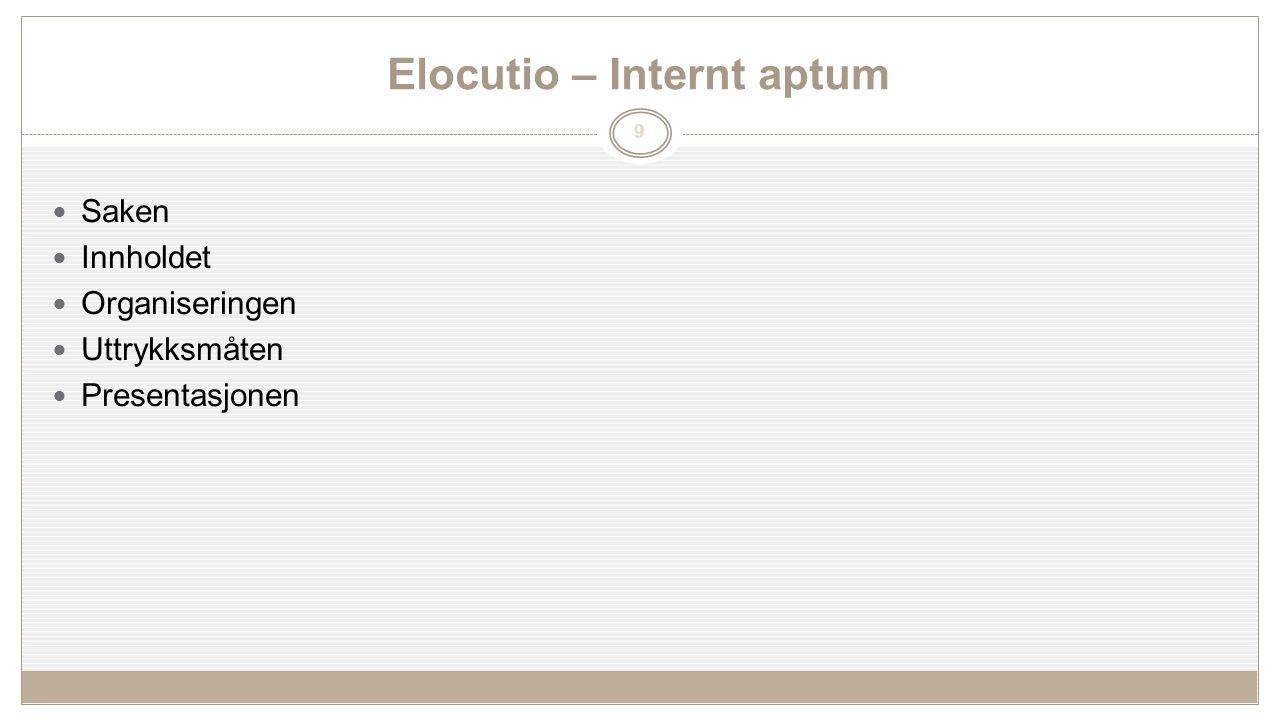 Ettermiddags økt: Gruppearbeider – elementer til en analyse 1.