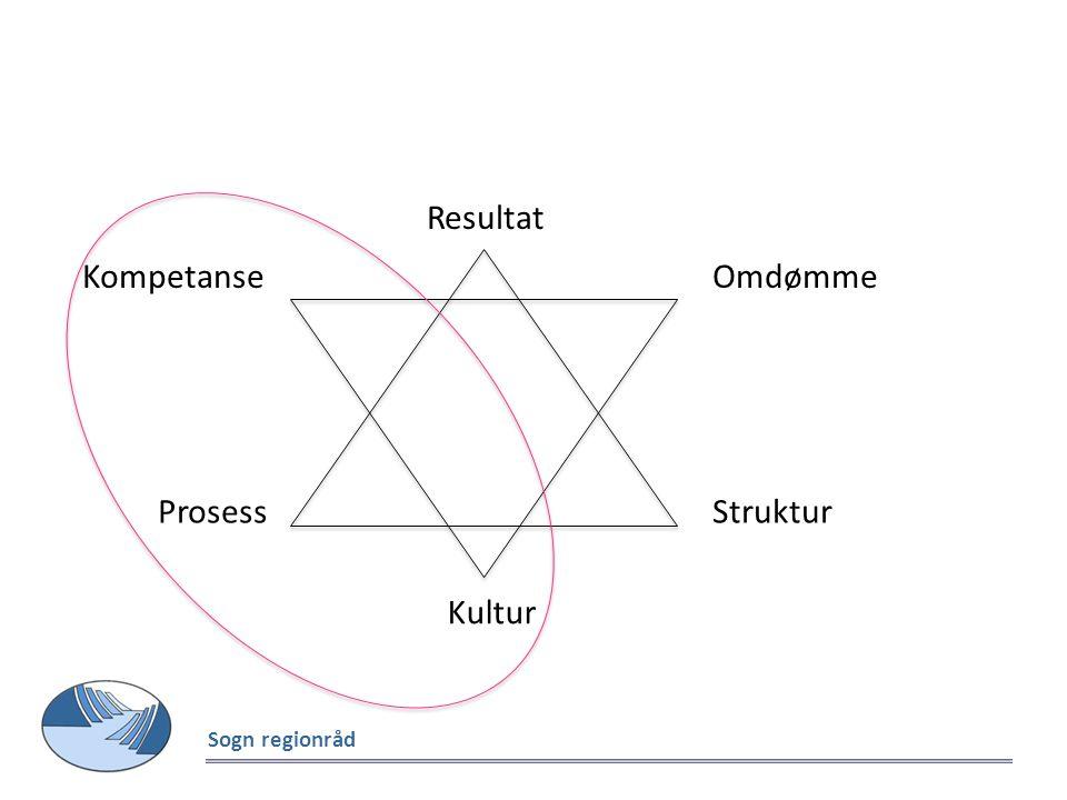 ProsessStruktur Resultat Kultur OmdømmeKompetanse