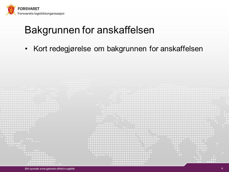 5 Leveransens art Beskrivelse av tjenesten 11.2.2015
