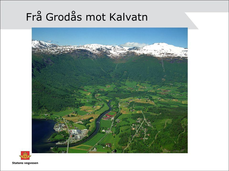 Frå Grodås mot Kalvatn