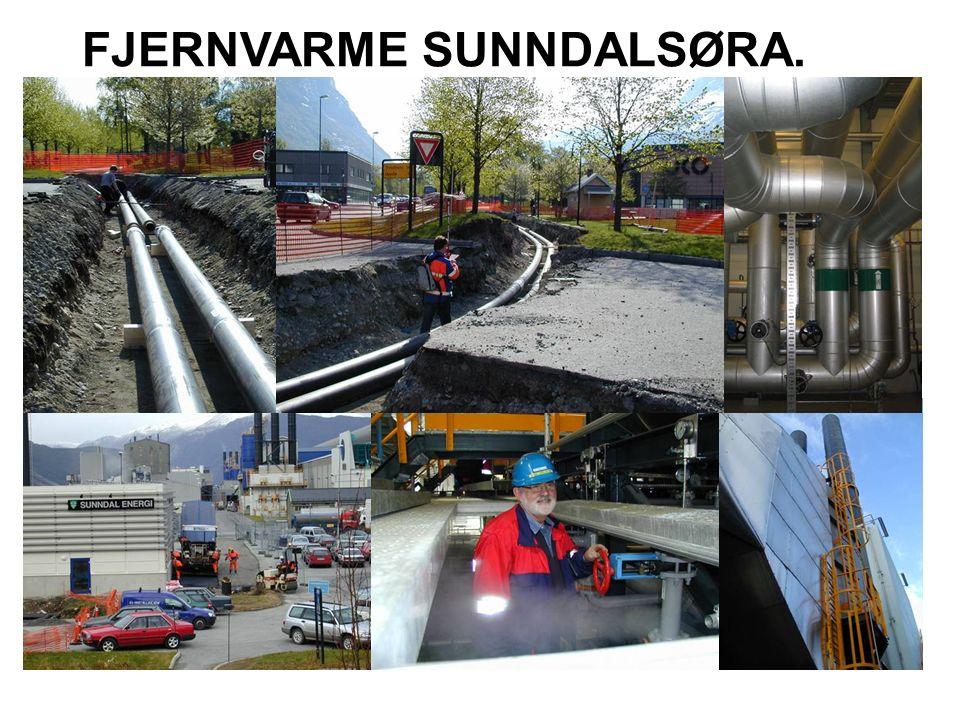 STATUS SUNNDAL ENERGI.Ide: PRODUKSJON/TØRKING AV HØYKVALITETS BIOMASSE MED SPILLVARME.