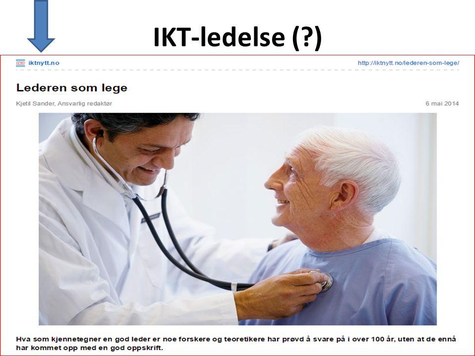 IKT-ledelse (?)