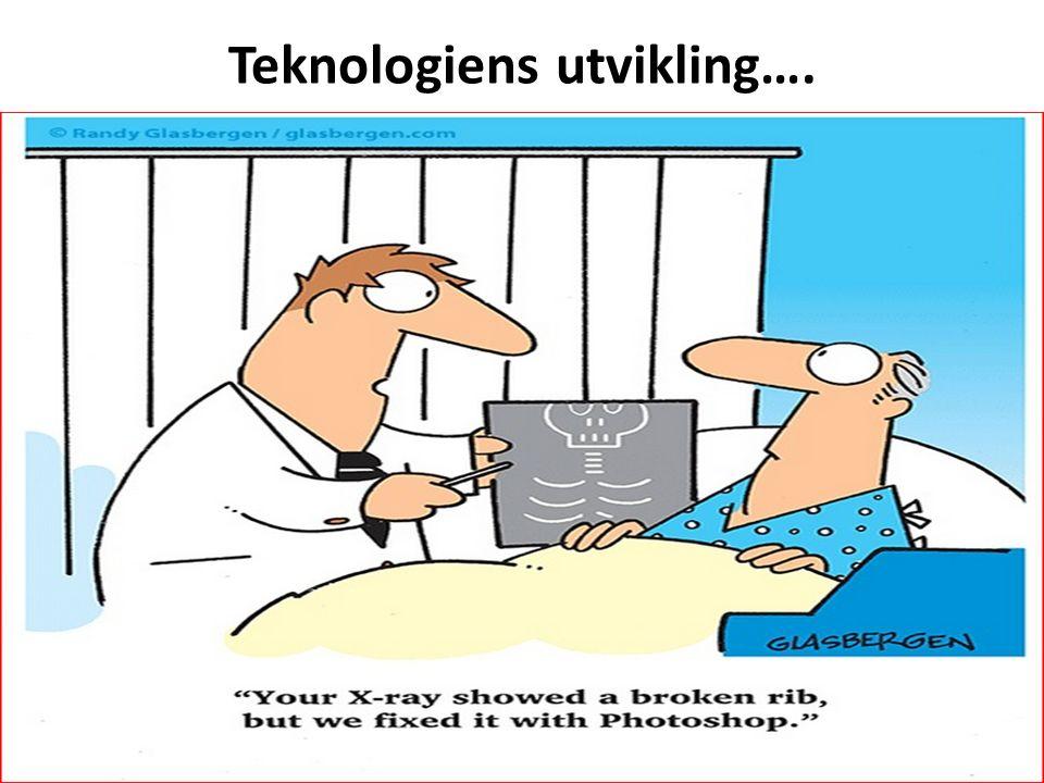 Teknologiens utvikling….