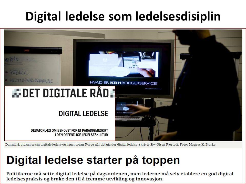 Digital ledelse som ledelsesdisiplin