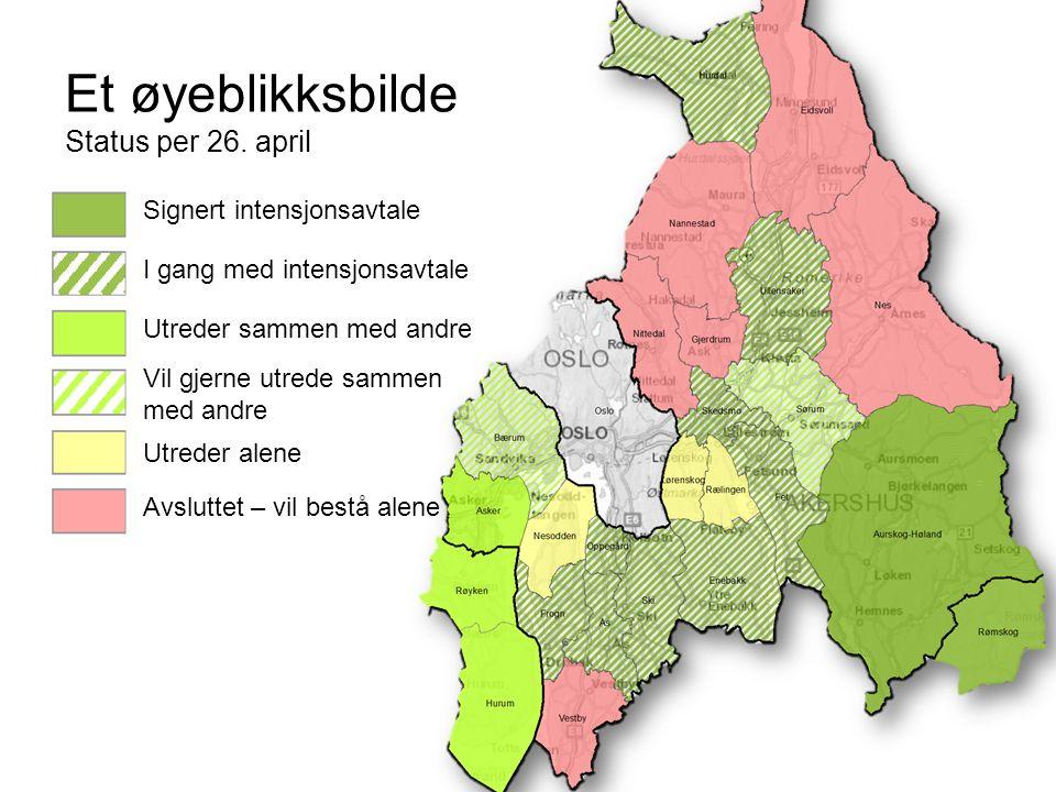 Status for nabosamtaler Sørum ønsker kommunesammenslåing, men i hvilken retning.