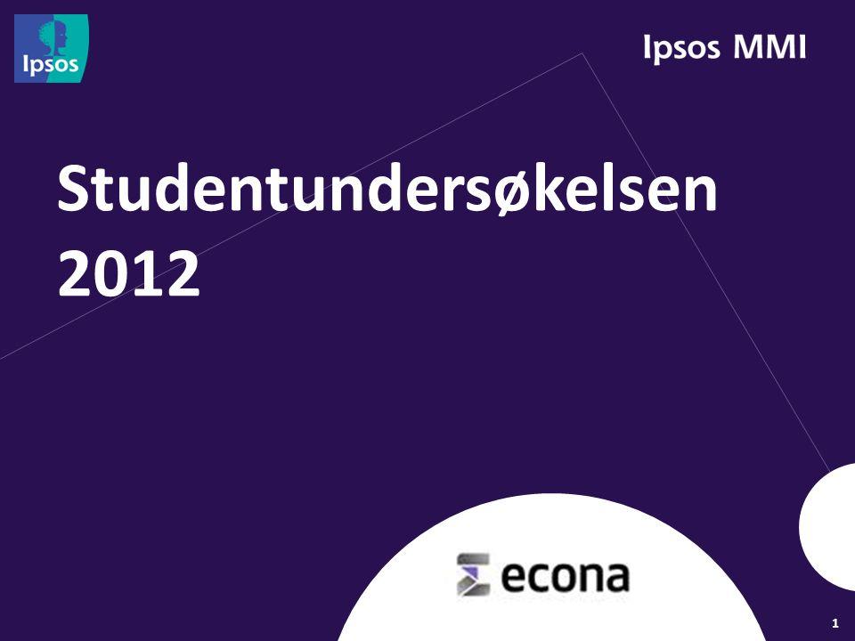 1 Studentundersøkelsen 2012