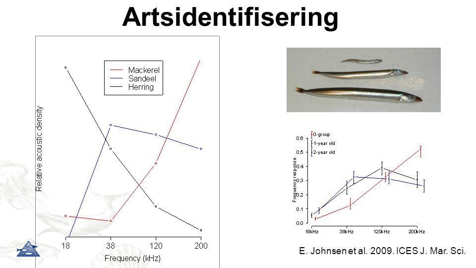 E. Johnsen et al. 2009. ICES J. Mar. Sci.