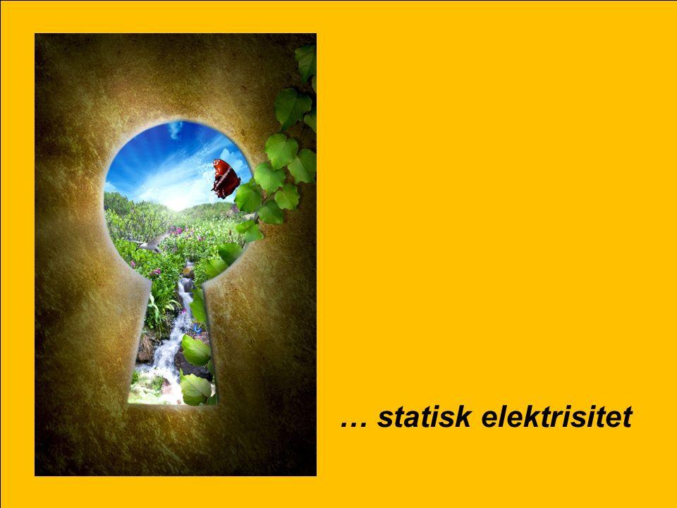 Realfagkonferansen 2015 19 … statisk elektrisitet