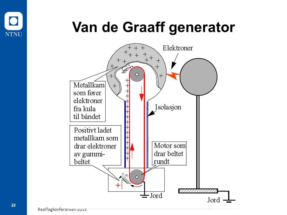 Realfagkonferansen 2015 22 Van de Graaff generator