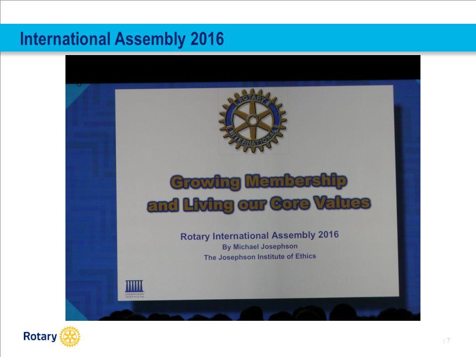 | 8 International Assembly 2016
