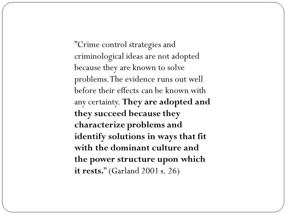 Realitetene Ikke nært politi – sentralisering.Generalister.