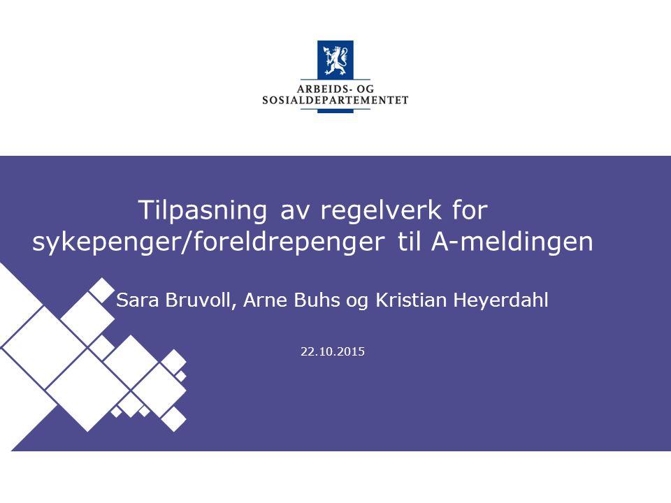 Arbeids- og sosialdepartementet Norsk mal: Startside Tips engelsk mal Velg ASD mal ENGELSK under oppsett .