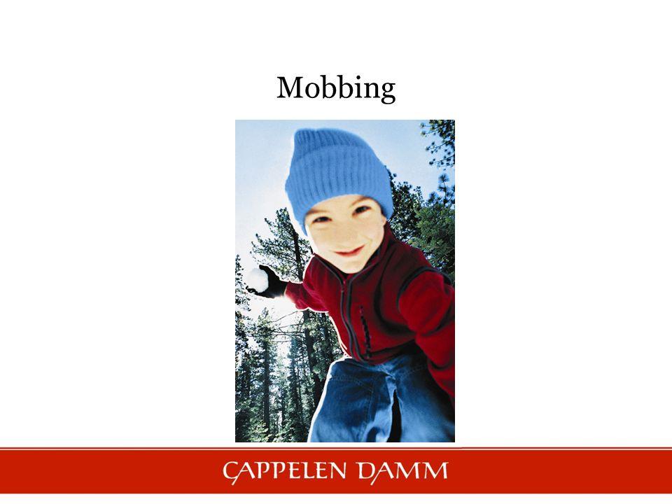 Mobbing defineres som systematisk vold, fysisk eller psykisk, rettet mot et offer og utført av personer eller grupper Se film: Kan man bli kvitt mobbing?Kan man bli kvitt mobbing.
