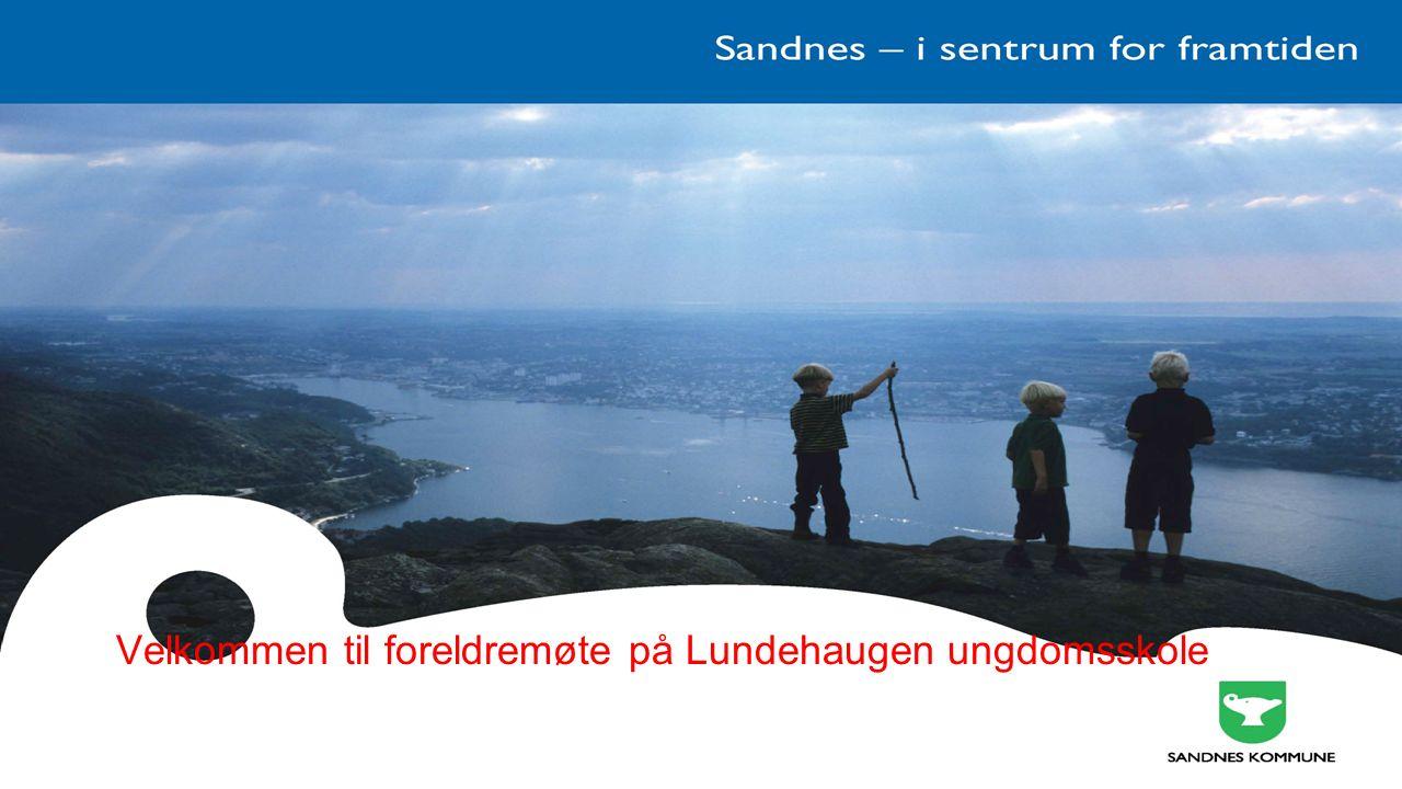 Velkommen til foreldremøte på Lundehaugen ungdomsskole
