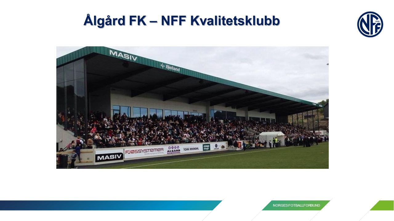 NORGES FOTBALLFORBUND Ålgård FK – NFF Kvalitetsklubb
