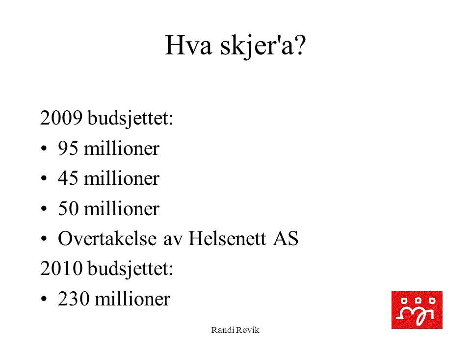 Randi Røvik Hva skjer a.