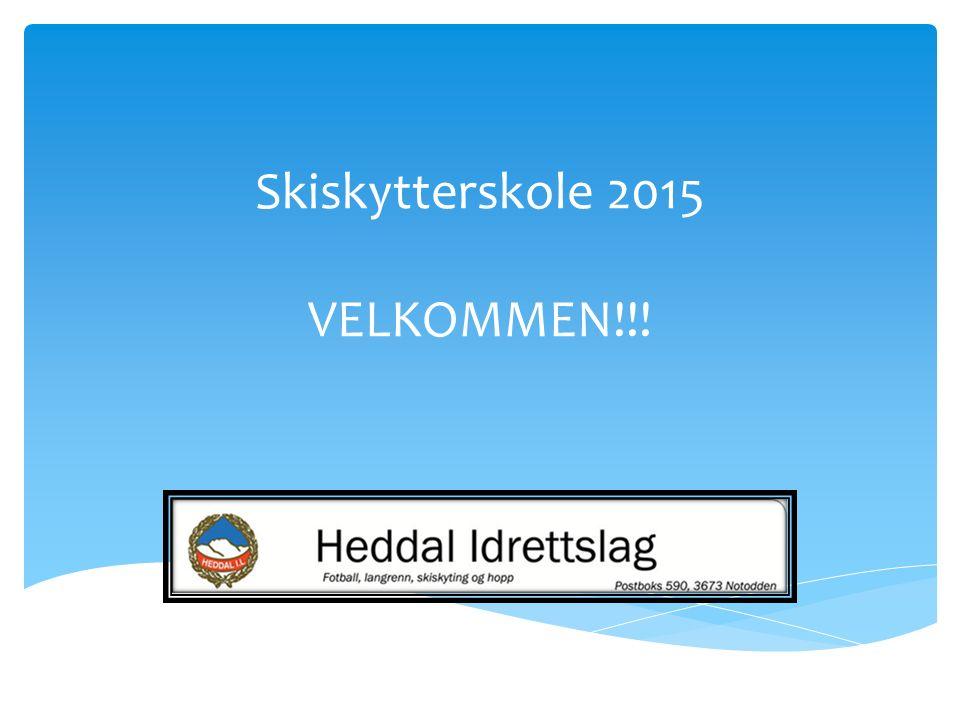  Samling 1, tirsdag 20/10 kl 18:00-19:30 i Heddal Aktivitetspark.