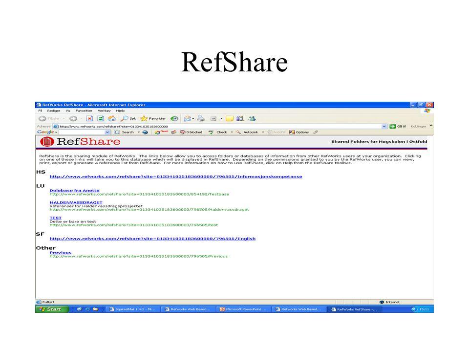 RefShare