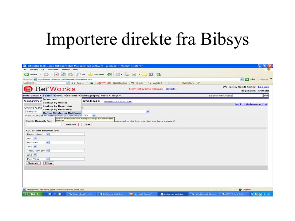 Sitere: One line/cite view