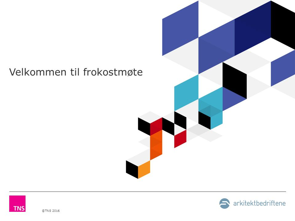 ©TNS 2016 Konjunkturrapport for arkitektbransjen 1H 2016 Av Berit Solli Arkitektbedriftene 4.