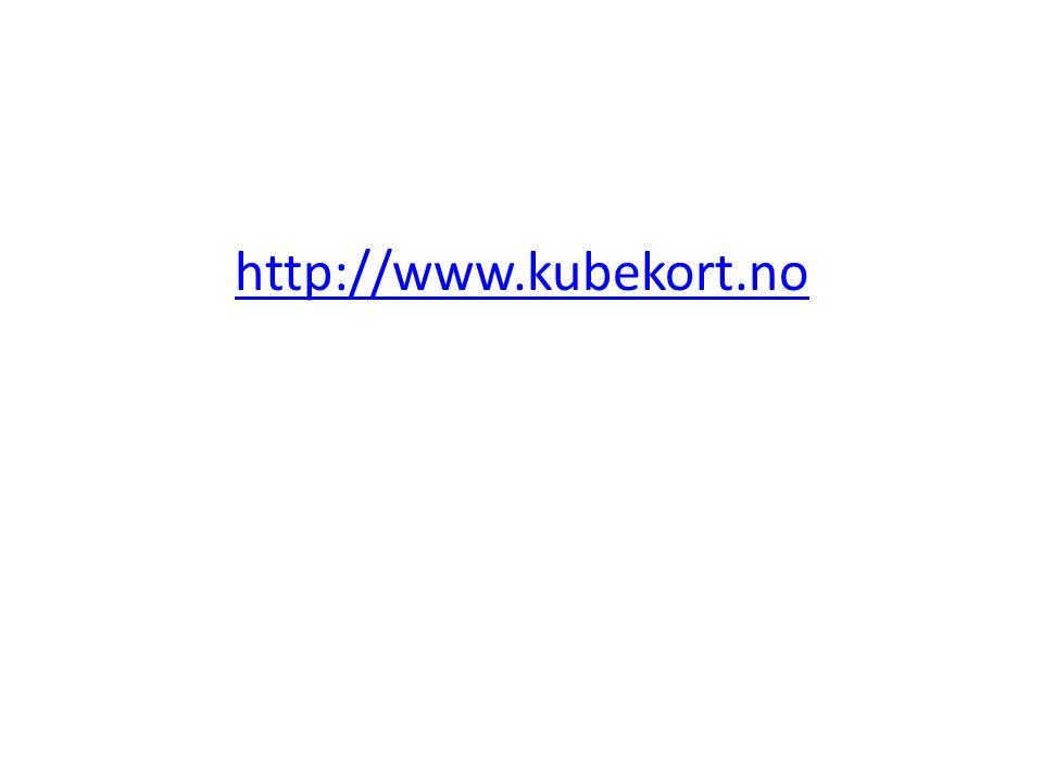 http://www.kubekort.no