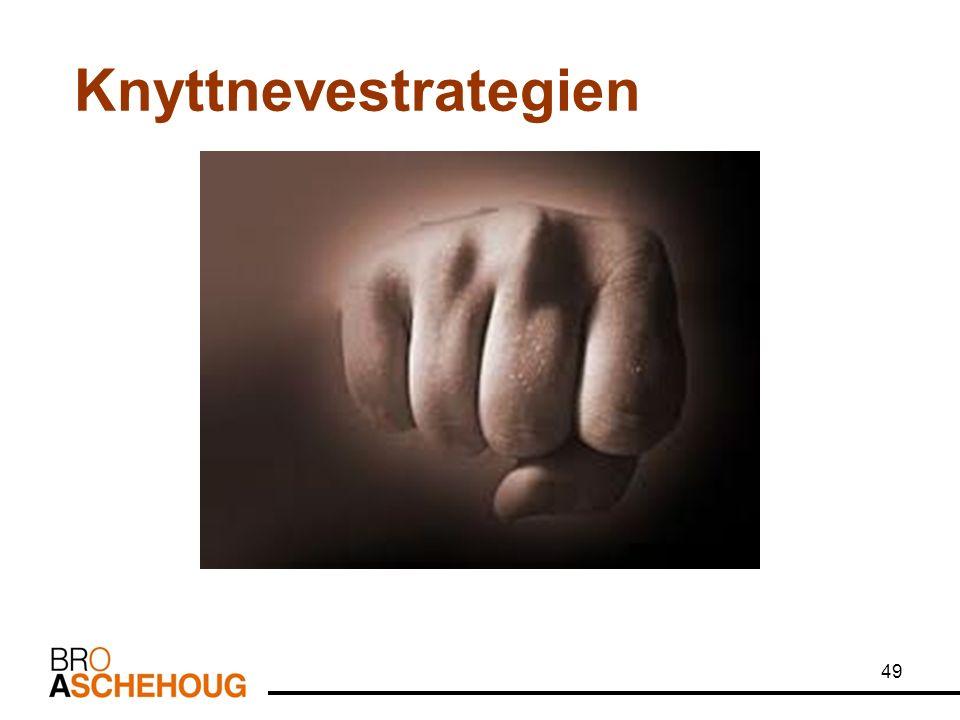 49 Knyttnevestrategien
