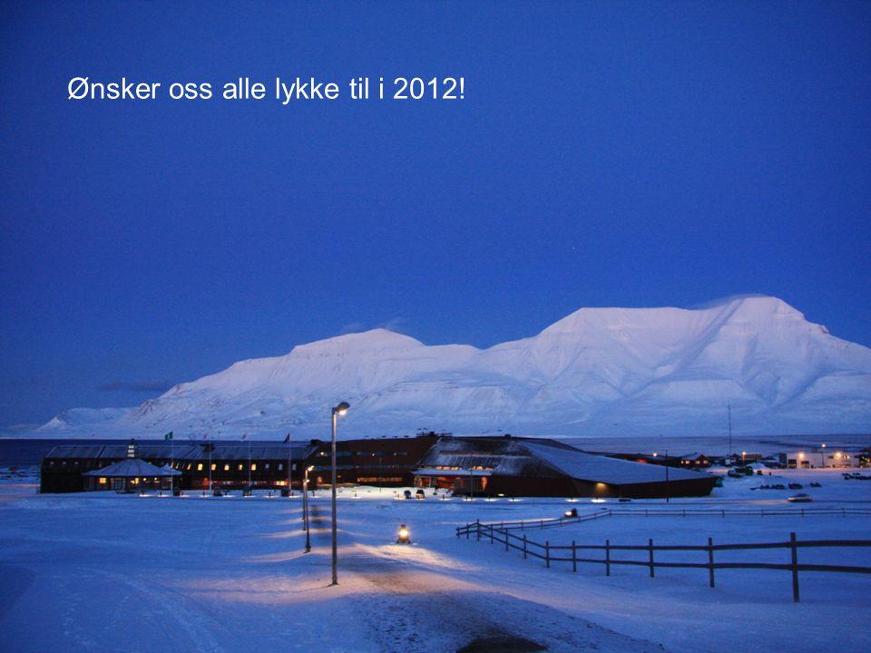 Ønsker oss alle lykke til i 2012!