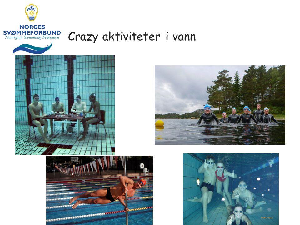 Crazy aktiviteter i vann