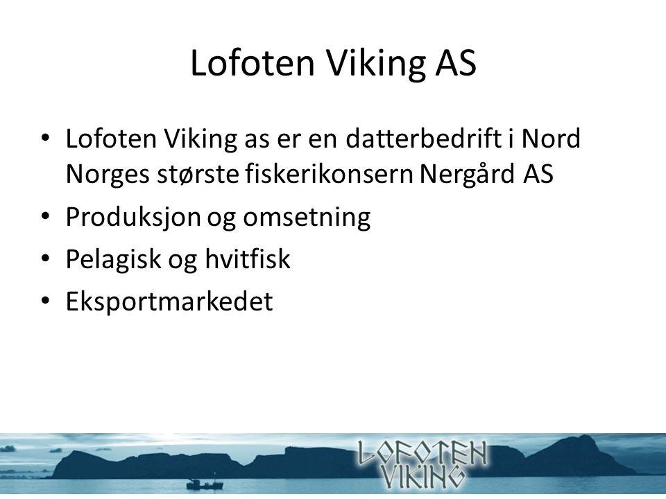 Leveranse ved Lofoten Viking AS
