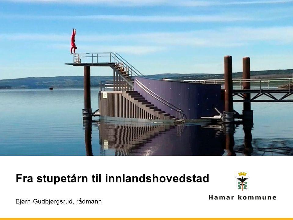 Fra stupetårn til innlandshovedstad Bjørn Gudbjørgsrud, rådmann