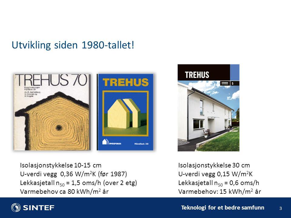 Teknologi for et bedre samfunn 3 Utvikling siden 1980-tallet.