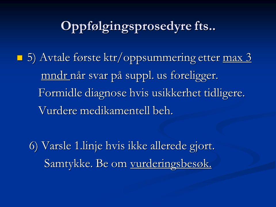 Oppfølgingsprosedyre fts..