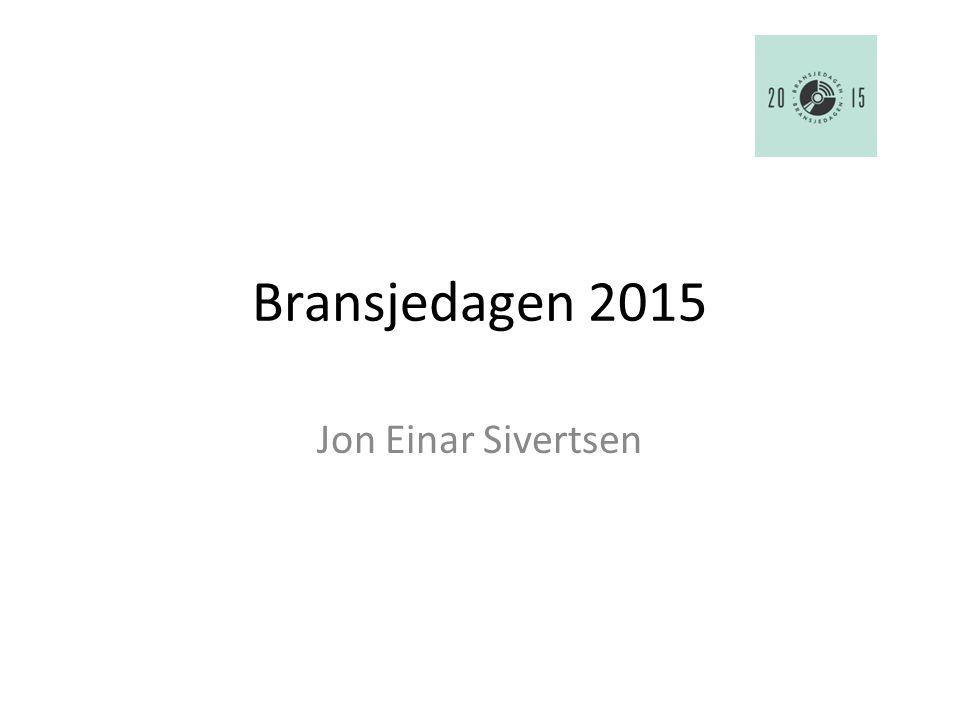 Bransjedagen 2015 Jon Einar Sivertsen