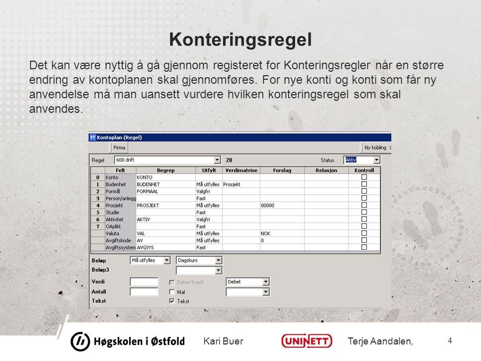 Endringsbehov under menypunktet «Agresso Logistikk – Ordre/Fakturering»  I utgangspunktet ett register som blir direkte berørt, og det er registeret Artikkelgrupper.