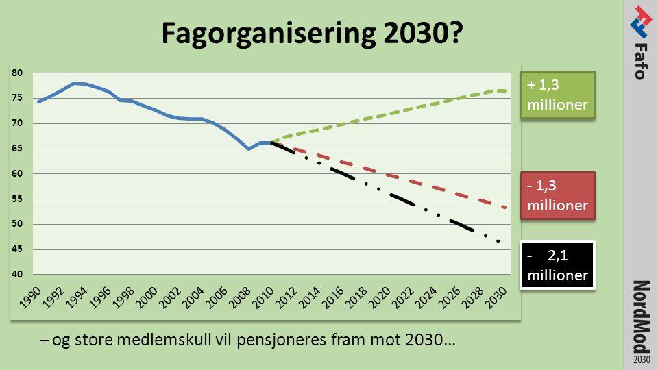 Fagorganisering 2030.