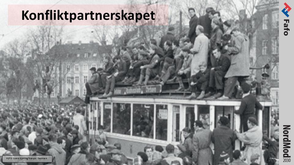 Konfliktpartnerskapet FOTO: Svend Gjørling/Scanpix Denmark