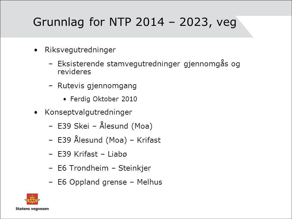 KVU Oppland - Melhus Fra NTP 2010-2019: –Samferdselsdepartementet er kjent med at kommunene langs E6 og rv 3 mellom Oppland grende og Trondheim har gått inn for prinsippet om delvis bompengefinansiert utbygging av E6 på denne strekningen.