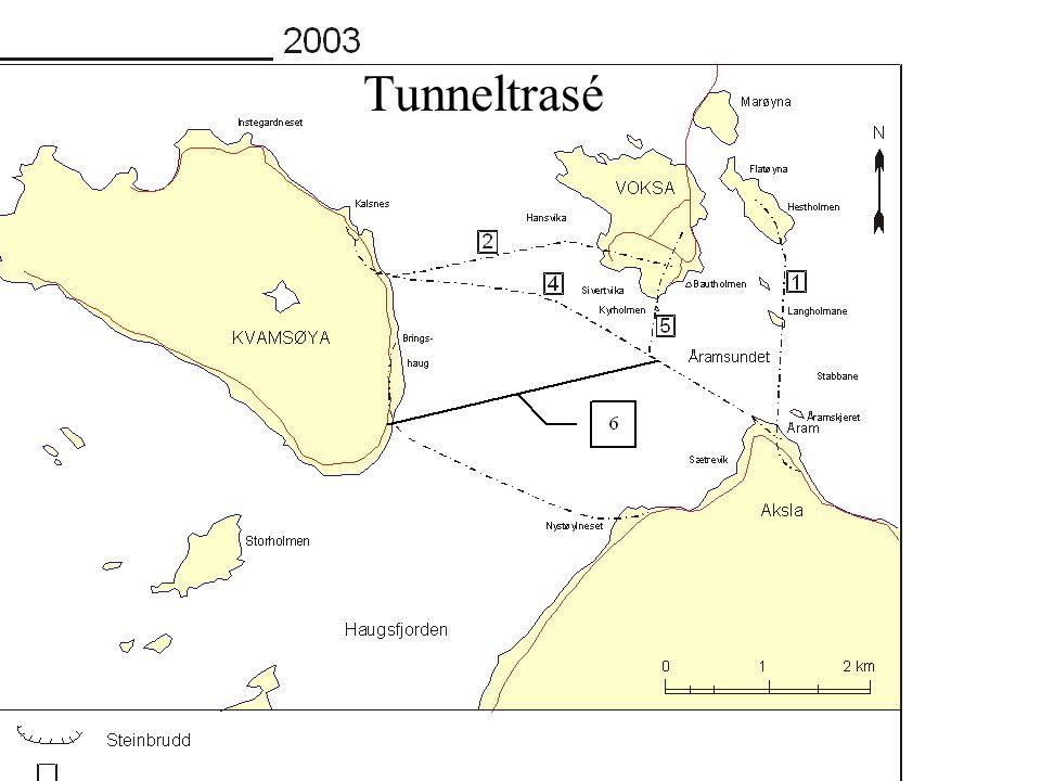 Tunneltrasé