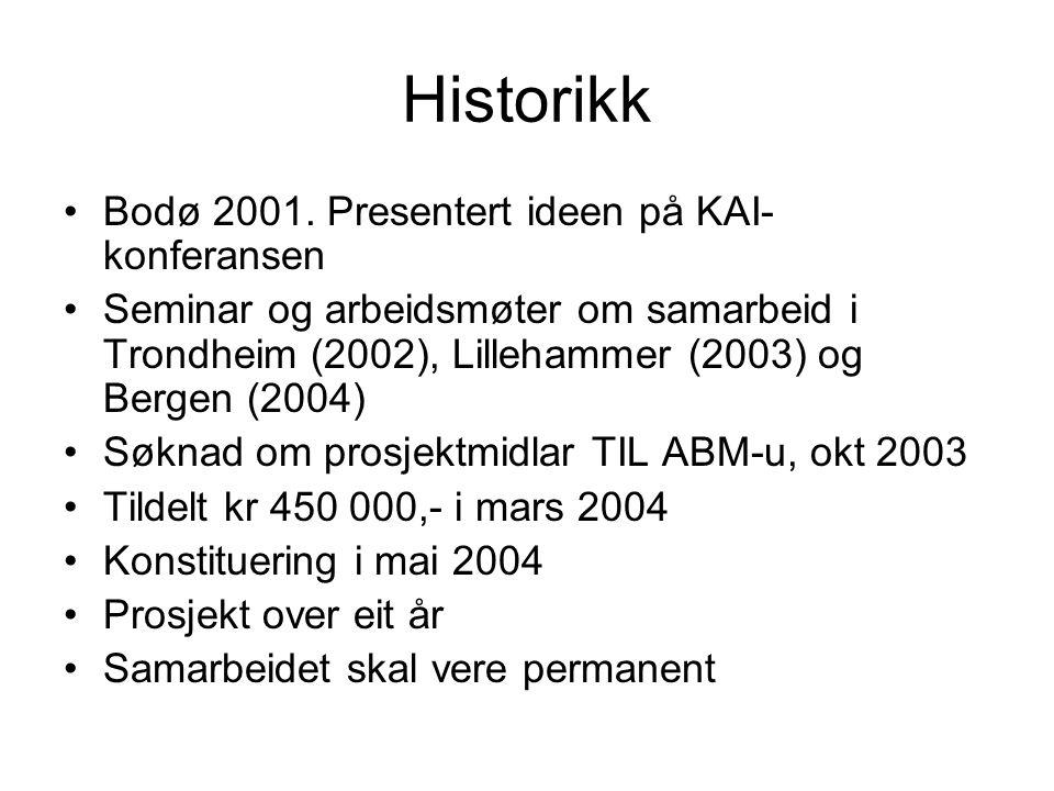 Historikk Bodø 2001.